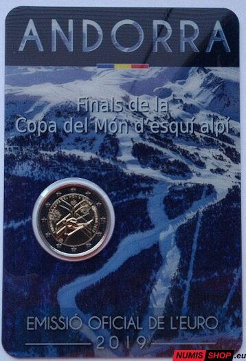 39f4fc8138 Andorra 2 euro 2019 - Alpské lyžovanie - UNC