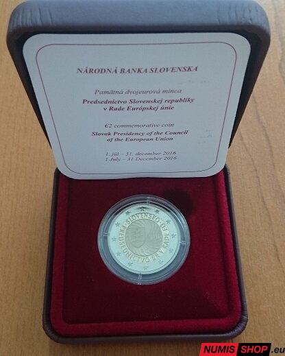 3ef9b5692 Slovensko 2 euro 2016 - Predsedníctvo - PROOF