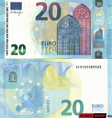 20 euro 2015 - Draghi - SF