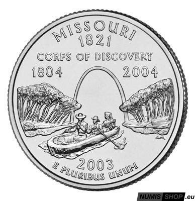 USA Quarter 2003 - Missouri - P - UNC