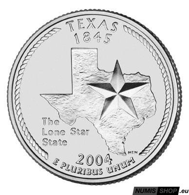 USA Quarter 2004 - Texas - D - UNC