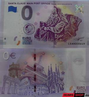 Fínsko - 0 euro souvenir - Santa Claus Main Post Office - 2018 - 1