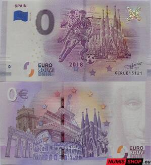 Nemecko - 0 euro souvenir - Spain - Football 2018