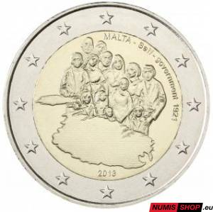 Malta 2 euro 2013 - Establishment of Self-Government in 1921- UNC