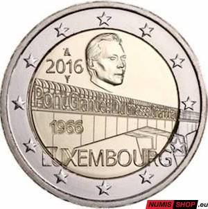 Luxembursko 2 euro 2016 - Most Charlotty - UNC