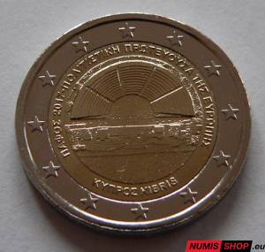 Cyprus 2 euro 2017 - Pafos - UNC
