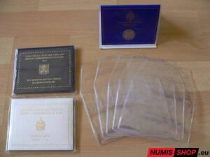 Obaly na pamätné 2 euro mince Vatikán - 5 ks 7403570556f